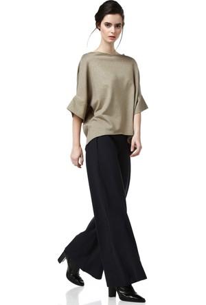 Demoda Kadın Lacivert Pantolon Dp1025
