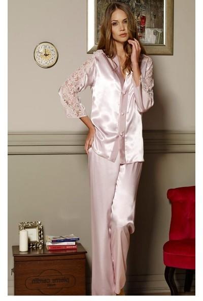 Pierre Cardin 6660 6 Lı Gelin Set Gecelik Sabahlık Pijama Tk Sort
