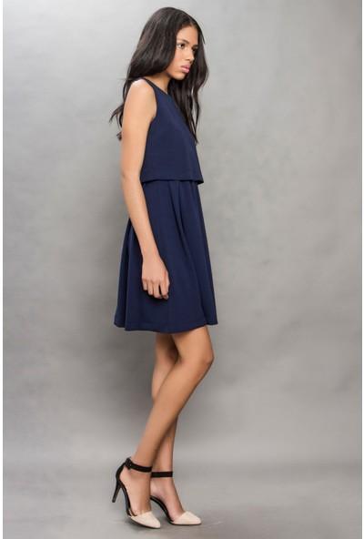 Tiffany&Tomato A3026 Düz Casual Elbise Kısa Kol
