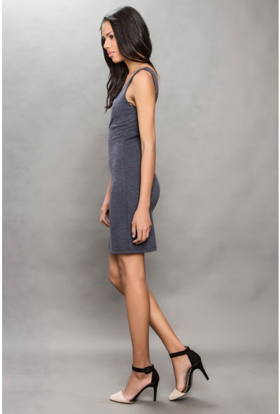 Tiffany&Tomato A3280 Düz Casual Elbise Kısa Kol