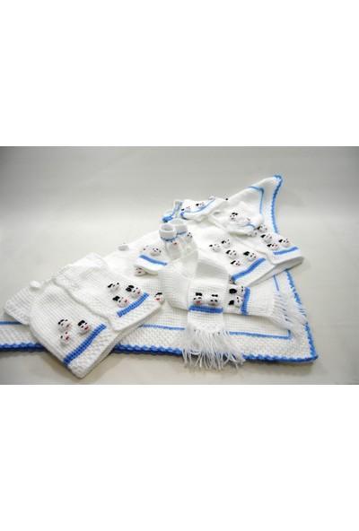 Çeyizci Bebek Seti Mavi