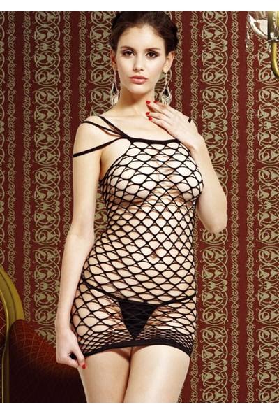 Missvera 6505 Fantazi Fileli Elbise