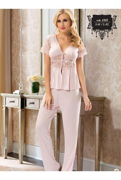 Sistina 1555 Penye Pijama Takım