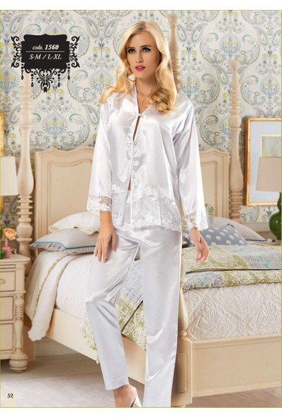 Sistina 1560 Saten Pijama Takım