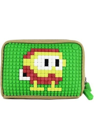 Pixie Crew Bags Yeşil El Çantası B001-Tk