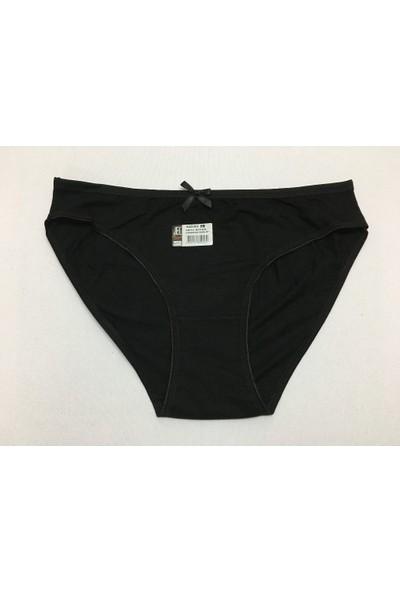 Elif Çamaşır 3'Lü Paket Kadın Külot Siyah