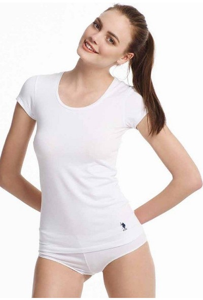 U.S. Polo Assn. 66003 Derin Yuvarlak Yaka T-Shirt