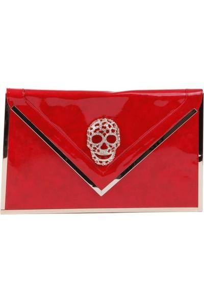 Bonalodi Kırmızı Kuru Kafa Çanta