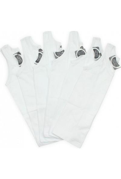 Modakids Gümüş İç Giyim 6'lı Erkek Çocuk Askılı Atlet 040-3021-027