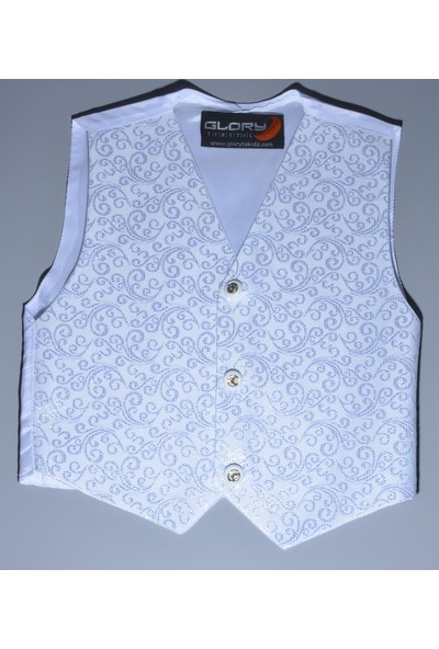 Glory Tekstil Sünnet Yeleği Beyaz