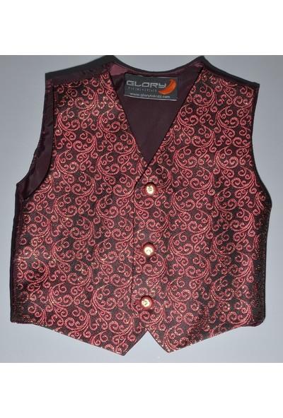 Glory Tekstil Sünnet Yeleği Bordo