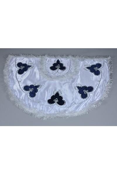 Glory Tekstil Sünnet Pelerini Çınar Model Beyaz-Lacivert