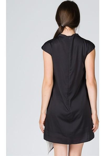 Bonalodi Digital Desen Kadın Elbise