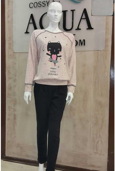 Aqua Pink 17055 Kadın Pijama Takımı