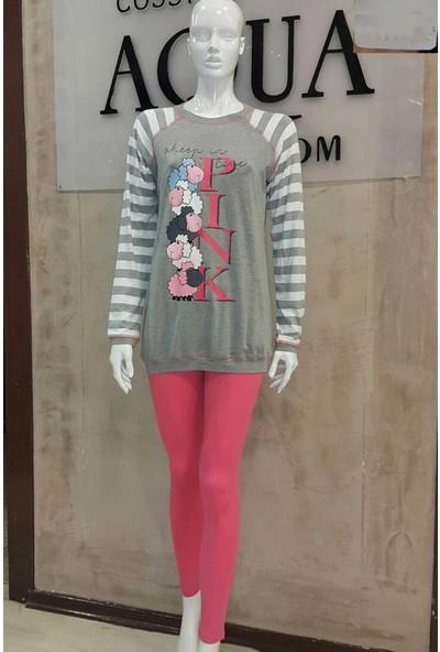 Aqua Pink 17064 Kadın Pijama Takımı