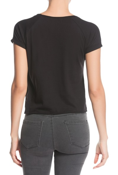 Tiffany&Tomato A3197 Baskılı Casual T-Shirt Kısa Kol