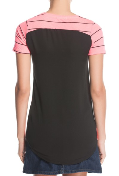 Tiffany&Tomato A3451 Baskılı Casual T-Shirt Kısa Kol