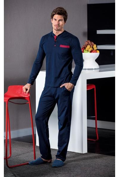 Yeni İnci EPJ446 Erkek 5'li Pijama Set