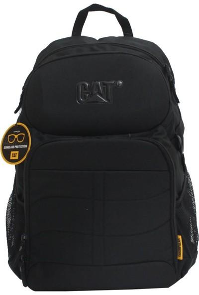 Cat 83316-01-S Erpıllar Siyah Sırt Çantası