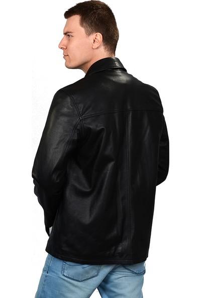 Deriza Masteiy Erkek Deri Ceket