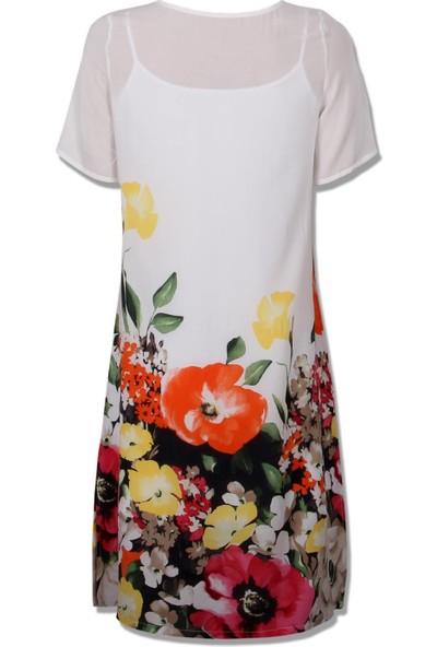 Voimoda Çiçek Desenli Elbise