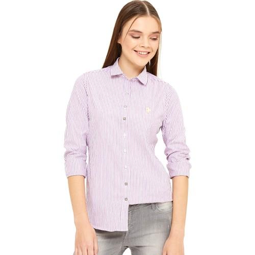 U.S. Polo Assn. Swin16K Kadın Dokuma Gömlek