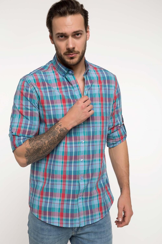 Defacto Men's Checkered Shirt