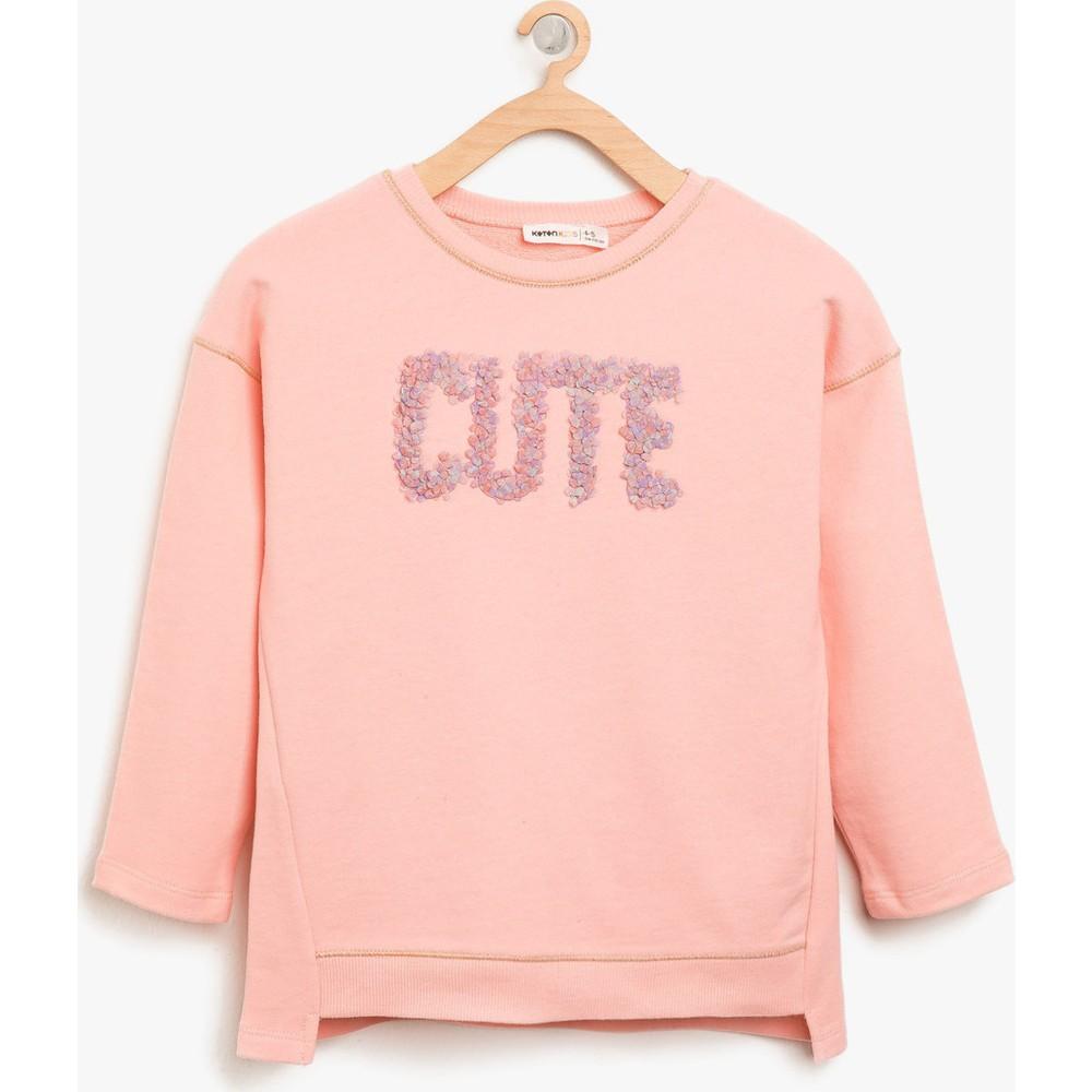 01ce0bb4eaf2a Koton Taş Detaylı Sweatshirt Fiyatı - Taksit Seçenekleri