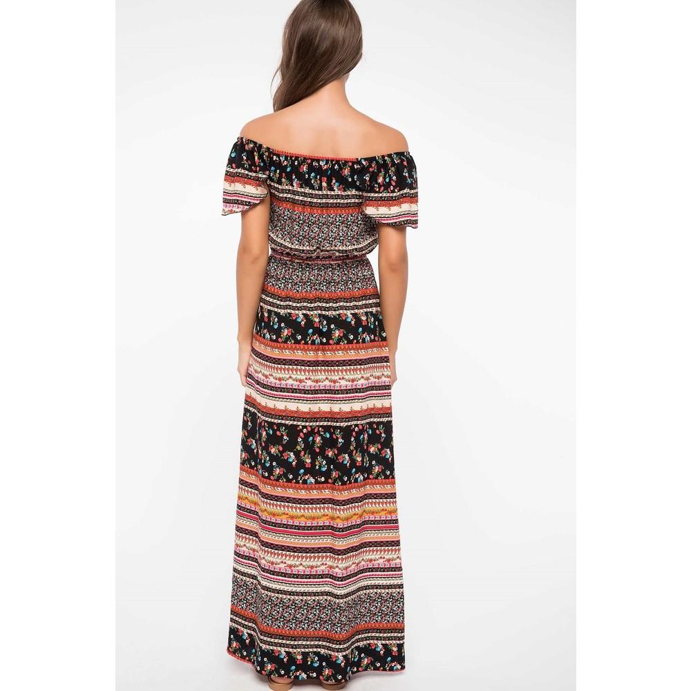 6dfd7dae9d637 Defacto Etnik Desenli Elbise Fiyatı - Taksit Seçenekleri