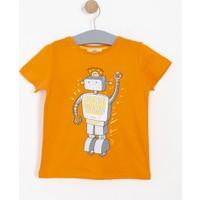 Soobe Erkek Çocuk T-Shirt Turuncu