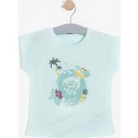 Soobe Kız Çocuk T-Shirt Mint (3-12 Yaş)