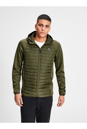 Jack & Jones 12110590 Jcomulti Quilted Jacket Noos Grape Leaf