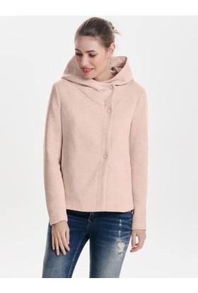 Only Kadın 15144755 Onlfairy Mel Hooded Short Jacket Cc Otw Ceket Etherea