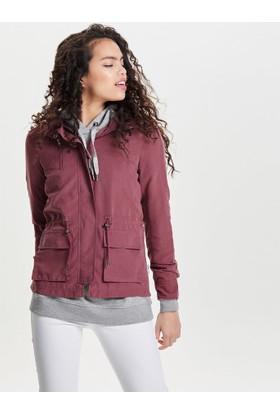 Only Kadın 15144783 Onlstarlight Spring Parka Jacket Cc Otw Parka Wild Ginger