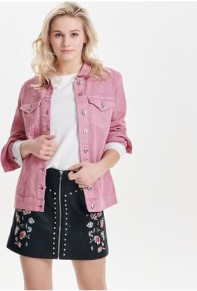 Only Kadın 15150514 Eva Oversized Jacket Bj Ceket Begonia Pink