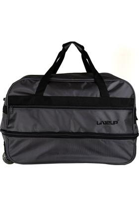 Liveup Gri Küçük Bavul Seyahat Çantası Bv300-020-S