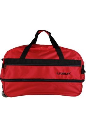 Liveup Kırmızı Büyük Boy Seyahat Çantası Bv300-600-L