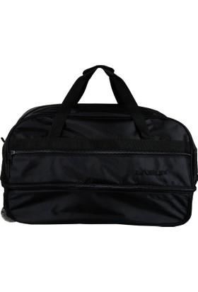 Liveup Siyah Büyük Bavul Seyahat Çantası Bv300-010-L