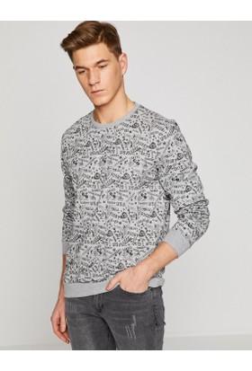 Koton Desenli Sweatshirt