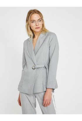 Koton Kemer Detaylı Ceket