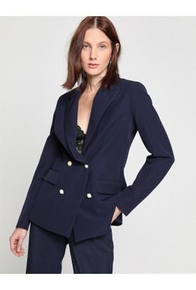 Koton Düğme Detaylı Ceket