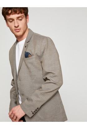 Koton Düğme Detaylı Blazer Ceket