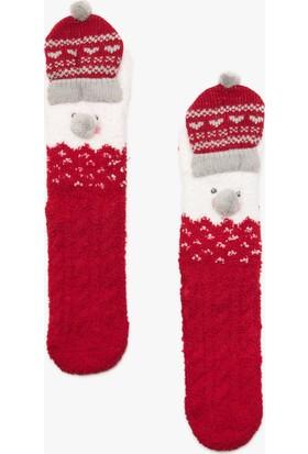 Koton Yılbaşı Temalı Kadın Çorap