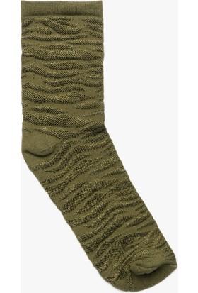 Koton Desenli Kadın Çorap
