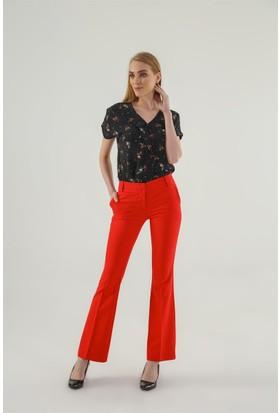 Jument 2232 Kırmızı İspanyol Pantolon