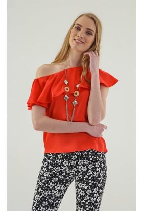 Jument 6241 Kırmızı Bluz