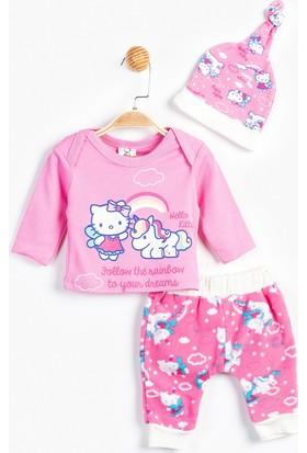 Hello Kitty Bebek 3'lü Takım 12444