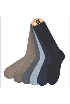 Faik Oktay Erkek Mevsimlik Bambu Çorap 6'Lı Paket