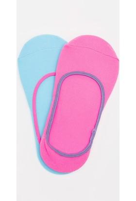Defacto 2'li Neon Babet Çorap Seti