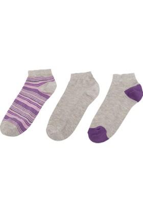 Defacto 3'lü Kısa Çorap Seti